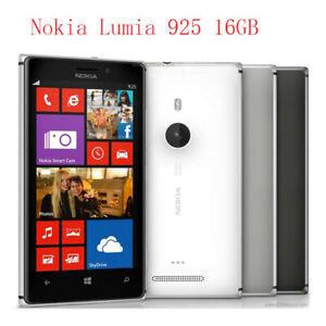 Nokia Lumia 925 - 16GB (Unlocked)  8.7MP WIFI GPS WCDMA 3G Windows OS Smartphone