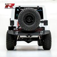 """Razer Auto 07-18 Jeep Wrangler JK Full Width Rear Bumper+Tire Carrier+2"""" Hitch"""