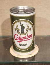 Aluminum Bottom Open Columbia Pull Tab Beer Can Carling Brewing 5 City