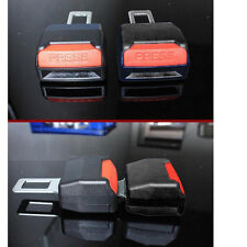 2Pcs/Set Car Safety Belt Seat Clip In Extension Buckle Vehicle Mounted Extender
