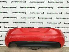 AUDI TT 2.0 TFSI 2006-2014 Paraurti Posteriore in Rosso Originale