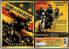SONS OF ANARCHY -  Intégrale de la Saison 2 - Coffret  3 boitiers slim - 4 dvd