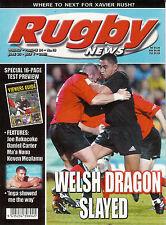 Nz Rugby News 34-18, 25 Jun 2003 Joe Rokocoko, Dan Carter, Ma'a Nonu, Keven Meal