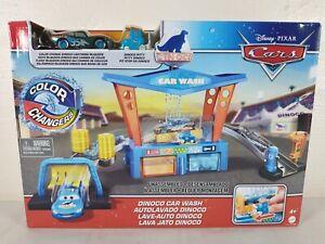 Disney Cars Toys and Pixar Color Change Dinoco Car Wash Playset