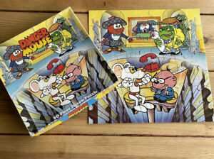 Vintage 1980s Danger Mouse 50 Piece Jigsaw Puzzle by Hestair Puzzles Kids Tv Toy