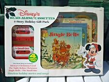 Vintage Walt Disney's Discovery Read-Along Cassettes 4-Story Holiday Gift Pack