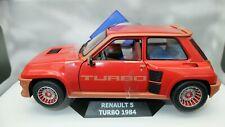Modellino auto scala 1:18 Solido RENAULT R5 TURBO modellismo diecast miniature