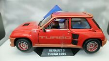 Modellauto Auto Skala 1:18 Solido Renault R5 Turbo Modell Diecast Miniaturen