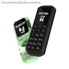 World's Smallest Tiny Phone KK2 Voice Changer Bluetooth Pocket Super Mini Phone