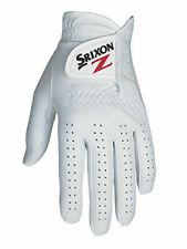 Srixon Premium Cabretta Leather Golf Glove - White - Sizes XL - S - Left Hand