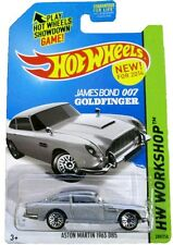 Hot Wheels - ASTON MARTIN 1963 DB5 - Goldfinger. 007 James Bond - Movie TV