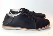 MOVMT Black Leather Lace up Casual shoes US size 12