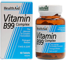 HEALTH AID VITAMIN B99 COMPLEX - 60 TABLETS