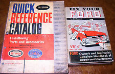 51 52 53 54 55 56 57 58 59 60 61 1962 FORD FAST MOVING PARTS CATALOG FoMoCo BOOK