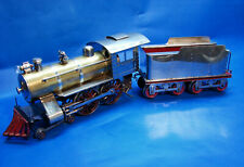 Rare 1910 Prewar Lionel Standard Gauge No. 7 Split Frame Type Locomotive/Tender
