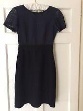 Boutique by Jaeger Black/Blue Lace dress. Size 8