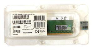 HP 4GB 1Rx8 PC4-2133P-R STND Registered Memory 803026-B21 803655-081 DDR4 RDIMM