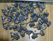 Neve 80 series  N.O.S. Jean Renaud Blue Wafer Switches 5 position 1073 1066 etc