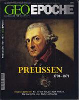 Geo Epoche Nr. 23: Preußen 1701-1871