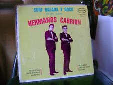 SEALED MEX ROCK LP~HERMANOS CARRION~SURF BALADA~BEATLES~AND I LOVE HER &~HEAR