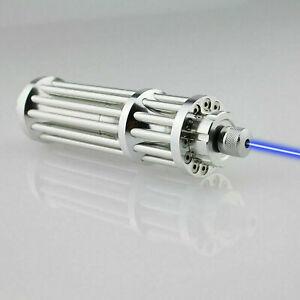 Puntatori laser ad alta potenza 5000000M Torcia Lazer 450Nm che brucia