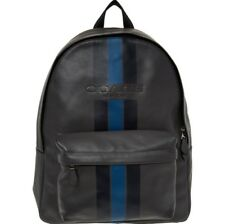 COACH Grey Varsity Leather Backpack £595