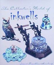 LIVRE/BOOK :  INKWELLS/POT D'ENCRE/ENCRIER/TINTENFASS bronze,verre,porcelaine