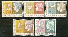 Nederland  612 - 616 ongebruikt