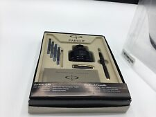 Parker Urban Fountain Pen Writing Set New in Box missing ink converter