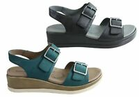 NEW HOMYPED MAGGIE WOMENS COMFORTABLE SUPPORTIVE LEATHER SANDALS