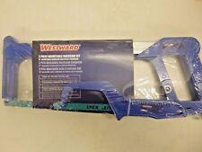 New! Westward 2 Pc Adjustable Hacksaw Set, 4Yr51