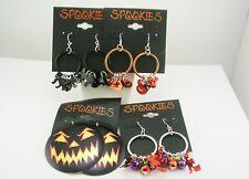 Spookies Set of 4 Halloween Earrings