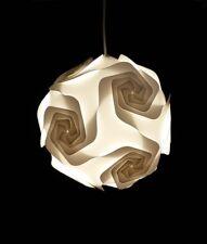 Lustre Suspension 002S - 30 Eléments Ø 25 cm - lampe puzzle - iq lamp