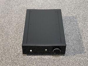Rega Brio-R Vollverstärker Intergrated Amplifier Amp 2x 50 Watt, Schwarz