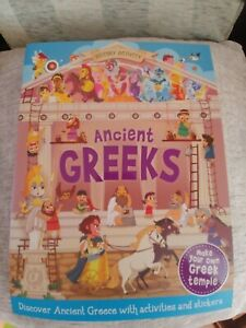 History Activity - Ancient Greeks - Press out Model & Stickers - New Book 📖