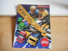 Siku Catalogue 1997/98