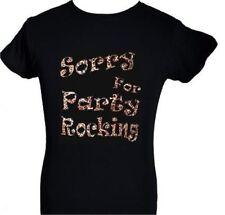 Gildan Rock Black Tops & Shirts for Women