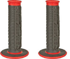 FLY Pilot II Dual Compound MX Red Black Off Road Grips Motorcycle Honda
