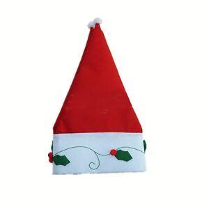 New Christmas Winter Curtain Decor Windows Door Hat Cap Santa indoor Decoration