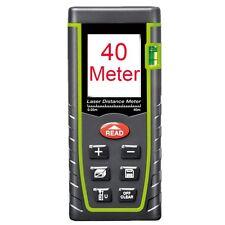 40M Lumiparty Laser Distance Meter Measure Tape Rangefinder Range Finder Tool