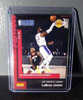 Lebron James 2019-20 Panini NBA Playoffs Instant #190 Basketball Card 1 of 448