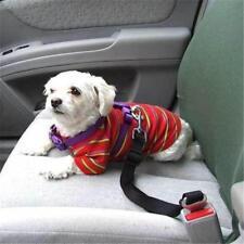 Собака безопасность регулируемый зажим питомец ремней безопасности для автомобиль авто для путешествий автомобиля безопасный щенок
