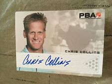 2007 PBA Bowling Autograph Chris Collins