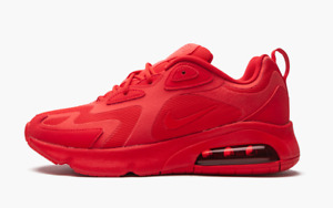 Nike Air Max 200 Triple Red Women Sneakers