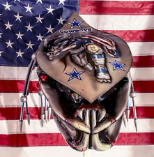 predator motorcycle helmet sports themes helmet cowboys fiber optic dreadlocks