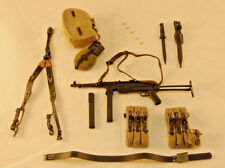 DiD Baldric WW2 German SS Panzer Gunner MP40 w/ Pouches, Harness, Gear 1/6 Scale