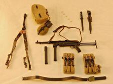 DiD Baldric WW2 German SS Panzer Gunner MP40 w/ Pouches, Harness, Gear 1/6 Scale