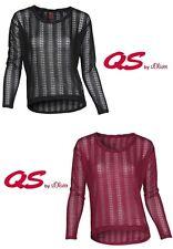 s.Oliver Damenblusen, - tops & -shirts mit Rundhals-Ausschnitt