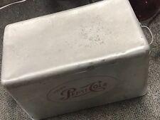 RARE ANTIQUE VINTAGE Pepsi Cola Cooler Aluminum ice chest cooler