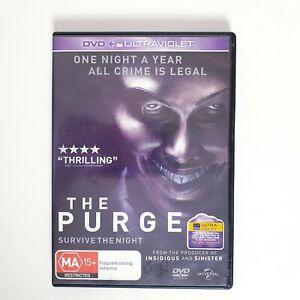 The Purge DVD Region 4 AUS Free Postage - Action Thriller